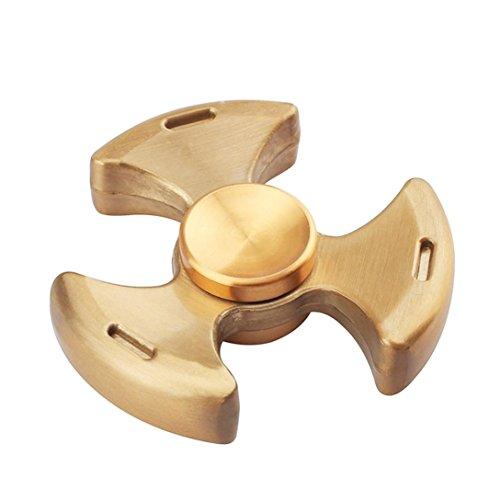 Preisvergleich Produktbild Saingace Tri-Spinner Fidget Hand Spinner Camouflage Mehrfarbige EDC Focus Spielzeug