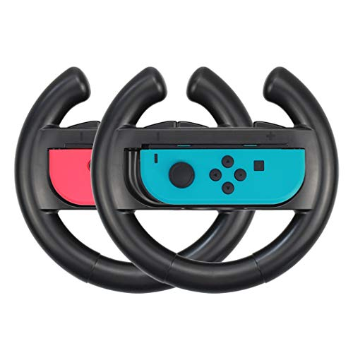 Preisvergleich Produktbild Webla-2 pcs for Nintend Switch NS Joy-Con Controller Racing Steering Wheel Handle Grip