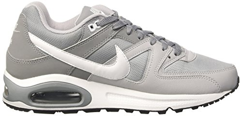 Nike Air Max Command, chaussure de course homme Multicolore - Multicolore (Wolf Grey/White-Stealth-Cool Grey)