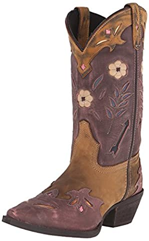 Laredo Women's Miss Kate Western Boot, Tan/Pink, 9 M US