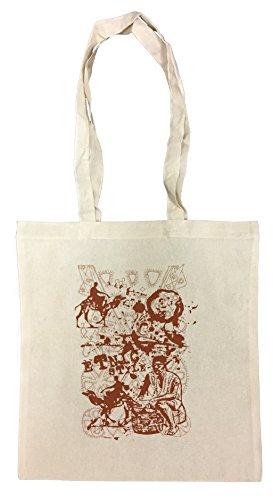 Etnic Style Borse Riutilizzabili Per La Spesa Shopping Bag For Graceries