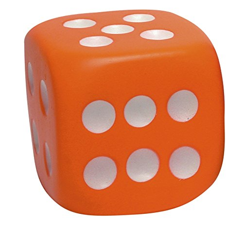 Dice Stress Ball, – Exercise Balls & Accessories
