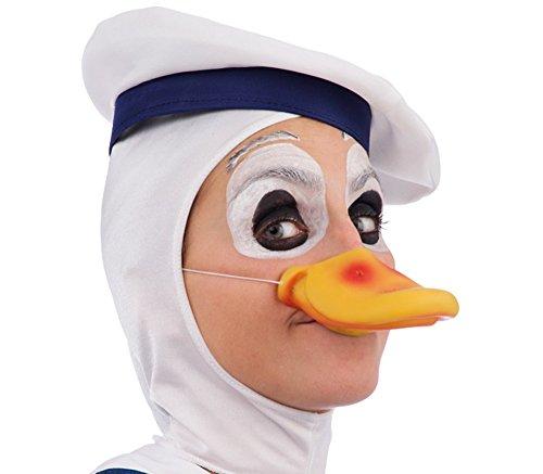Carnival Toys 6028-Ente Schnabel in Umschlag (Ente Donald Kostüm)