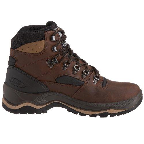 Grisport Quatro Hiking, Chaussures randonnée femme Marron