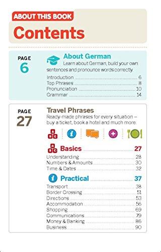 Lonely Planet German Phrasebook & Dictionary - 3