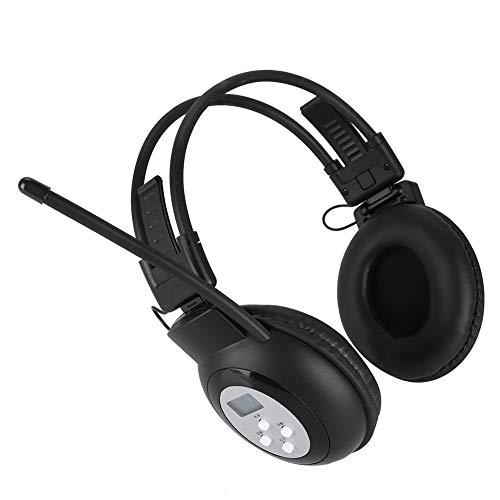 VBESTLIFE IR Universal Infrarot Wireless Faltbarer Kopfhörer für DVD-Player im Auto Overhead Stereo Headset für Auto Video Audio Wiedergabe Wireless-ir-stereo