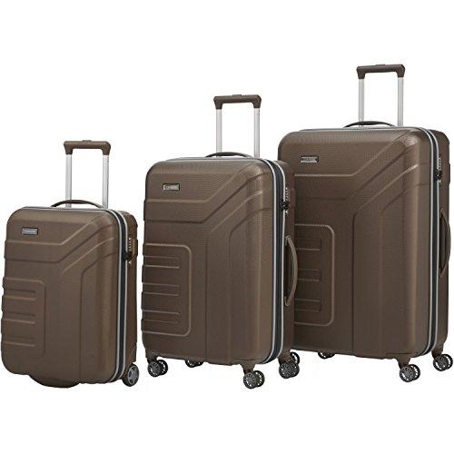 """Travelite Set de bagage""""Vector"""" 3 pcs marron"""