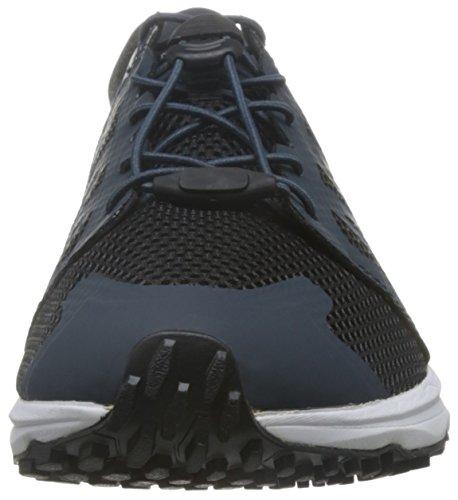 The North Face T92ya9m6s, Chaussures de Course de Trail Homme Multicolore (Azul Marino / Blanco)
