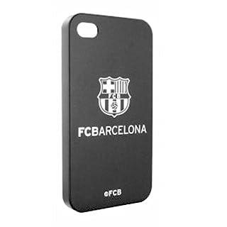 FC Barcelona Barca Handy Cover Rückseitemt Logo schwarz Mobile Cellulare Iphone