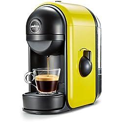 Lavazza Minù Independiente Manual Máquina de café en cápsulas 0.5L Amarillo - Cafetera (Independiente, Máquina de café en cápsulas, 0,5 L, Cápsula de café, 1250 W, Amarillo)