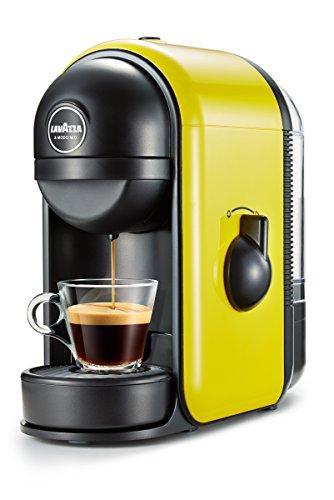 Lavazza Minù freistehend manuell Maschine in Kaffee Kapseln 0.5L gelb Espressokocher (freistehend,...