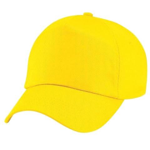 Beechfield - Casquette de Baseball 100% coton - Unisexe (Taille