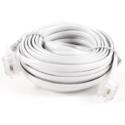 sourcingmapr-cavo-prolunga-telefonico-modulare-bianco-rj11-6p2c-lunghezza-6-metri