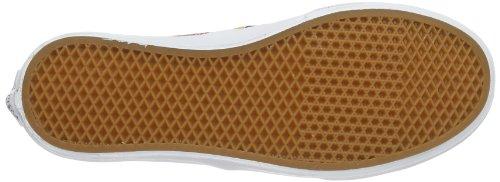 Vans U AUTHENTIC SLIM (PEACOCK) TRUE, Sneaker unisex adulto bianco (White - Weiß ((Peacock) true))