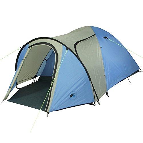 10T Zelt Jumbuck Sky 3 Mann Kuppelzelt wasserdichtes Campingzelt 5000mm Igluzelt mit Wohnraum