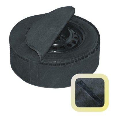 Housse de protection pour roue de secours, voitures, 4x 4,et camionnettes, 35,6cm 38,1cm 40,6cm 43,2cm 45,7cm, noir, taille E