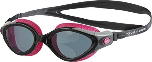 Only Sports Gear Speedo Futura Biofuse Flexiseal Female Swimming Goggles - Pink/smoke For Women