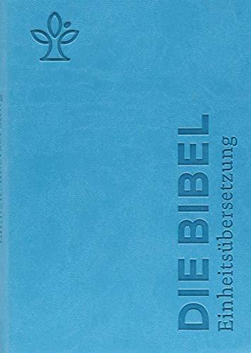 Die Bibel. Senfkorn, Handschmeichler petrol: Einheitsübersetzung, Gesamtausgabe