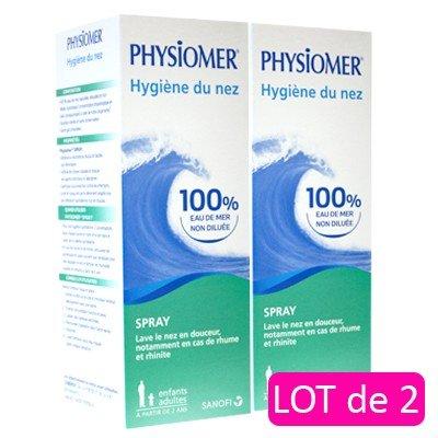 Physiomer igienica del naso spray lotto da 2 x 135 ml