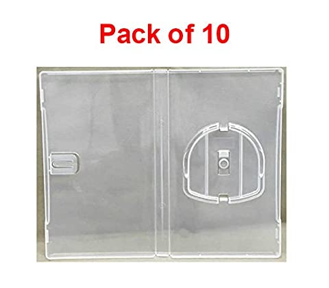 (Pack of 10) MasterStor 14mm Deep Clear Umd Game Replacement Clear Cases For Sony Psp CD Case Umd Case Made From Stylish Clear