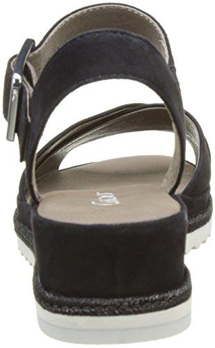 Gabor Fashion, Sandales Bout Ouvert Femme Noir (pazifik 16)