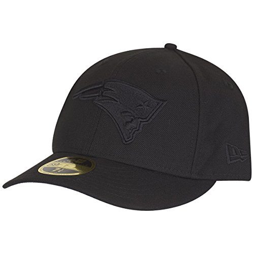 New Era 59Fifty LOW PROFILE Cap - NFL New England Patriots - 7 1/2 (Profile 3d Low Cap)