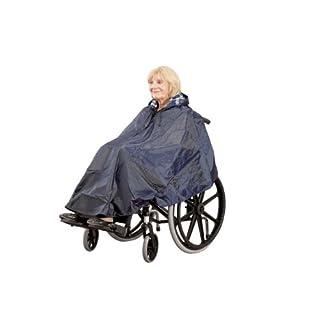 Ability Superstore - Gefütterter, wasserfester Poncho für den Rollstuhl