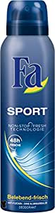 Fa Sport 48h Deospray, 6er Pack (6 x 150 ml)