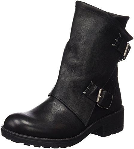 CoolwayBLONDY - Stivali a metà polpaccio con imbottitura leggera Donna , Nero (Nero (Blk)), 36