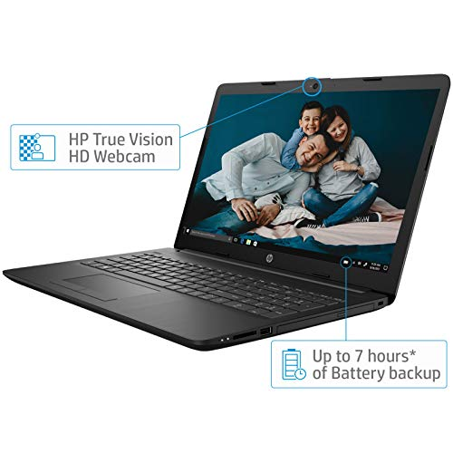 HP 15 Intel Core i5 (8GB DDR4/1TB HDD/Win 10/MS Office/Integrated Graphics/2.04 kg), Full HD Laptop (15.6-inch, Sparkling Black) 15q-ds0029TU Image 4