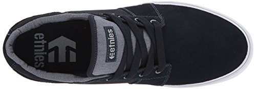 Etnies Herren Barge LS Skateboardschuhe, Schwarz navy/grey/white