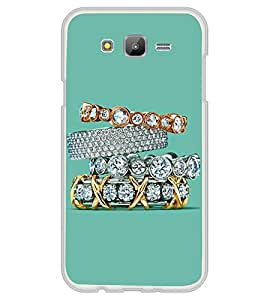 Diamond Rings 2D Hard Polycarbonate Designer Back Case Cover for Samsung Galaxy J7 J700F (2015 OLD MODEL) :: Samsung Galaxy J7 Duos :: Samsung Galaxy J7 J700M J700H