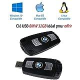 BMW USB-Stick, 32 GB, FAT32- und NTSFS-Dateisystem, ideal als Geschenk