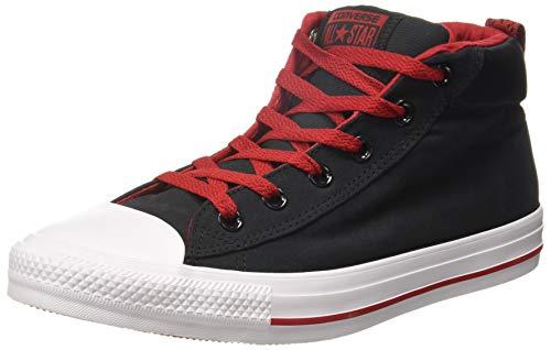 Converse Men's  Black/Grey Sneakers - 6 UK/India (39 EU)(159647C)