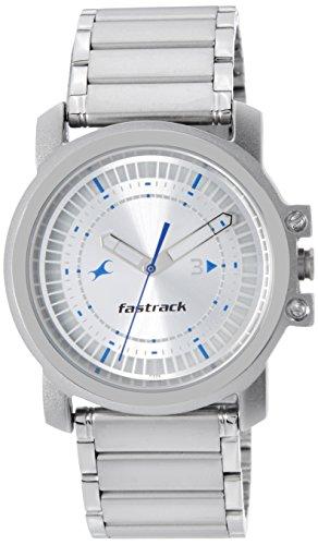 Fastrack Upgrades Analog Silver Dial Men's Watch - NE3039SM03 image