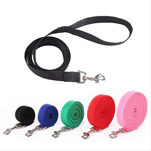 Myqg, guinzaglio a 4 colori, 5 m, imbracatura per cani in abs automatico, retrattile, guinzaglio per cuccioli, corda per passeggiate e gatti, forniture di trazione dettagliate, misura 4 lunghezza 5 m
