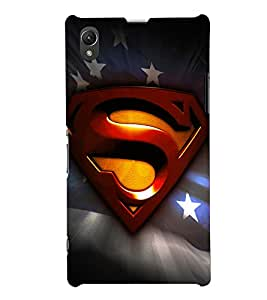PRINTSHOPPII SUPERMAN FAN Back Case Cover for Sony Xperia Z1::Sony Xperia Z1 L39h