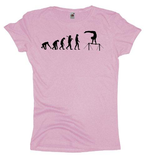 Ma2ca - Evolution - Recksport Girlie T-Shirt Lightpink