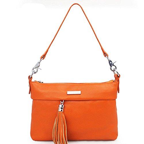 GBT 2016 Trend Damen Leder feine Umhängetasche Orange
