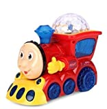 #5: Babytintin™ Bump and Go Musical Engine Train with 4D Light And Sound For Toy For Kids