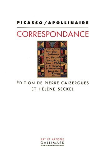 Picasso/Apollinaire: Correspondance (Art et artistes) (French Edition) by Pablo Picasso (1992-08-02)