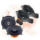 Hertz Front/Heck 13cm/130mm Auto Lautsprecher/Boxen/Speaker Komplett-Set für Honda