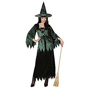 WIDMANN 89553 - Disfraz de bruja para mujer (talla L)