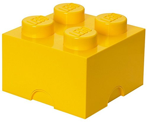 Lego 4003 Storage Brick 4 Medium Gelb (Stapelbar Spielzeug Bins)