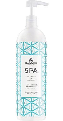 Kallos Spa Verwöhnendes Duschbad mit Neroli-Öl, 2er Pack (2 x 1000 ml)