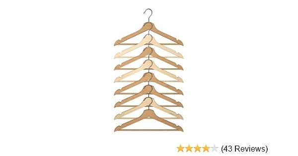 IKEA HÄNGA Kinderkleiderbügel in naturfarben 5 Stück Bügel Holz-Kleiderbügel Neu
