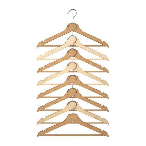 Holzkleiderbügel Holz, 30