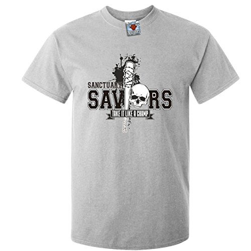 Bullshirt 's Herren 's Saviors T-Shirt. grau