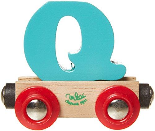 Vilac – Lettre wagon en bois – Q