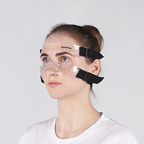 QianCheng nose Guard Face Shield, maschera L5di medie dimensioni con imbottitura protettiva per donne e ragazzi, qc-l5-m